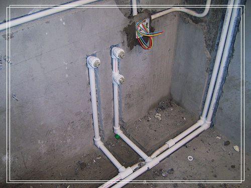 卫生间、热水厨房管改装PP-R联塑注意哪些事上图纸piar图片